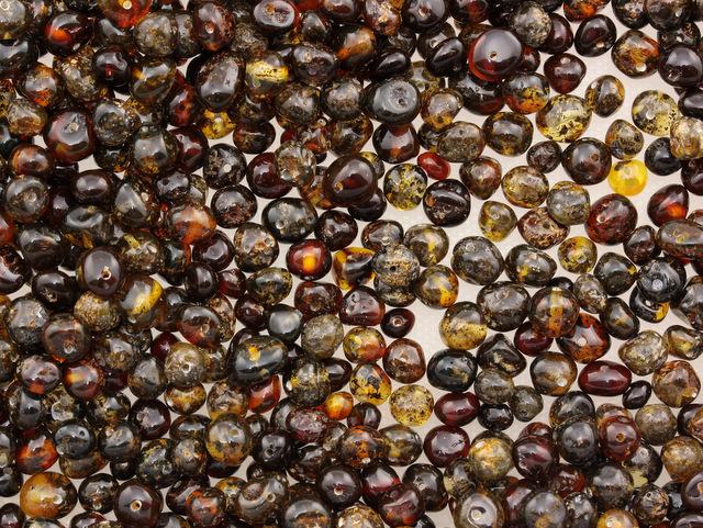 Cherry and Dark Baltic Amber