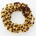 10 Multi Raw BAROQUE teething Baltic amber necklaces 33cm