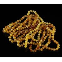 10 Butter Baltic Amber Anklets 25cm