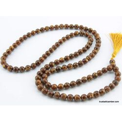 Tibetan Buddhist Mala Prayer 108 PRESSED Baltic amber beads