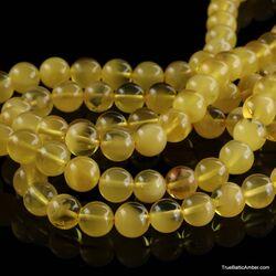 Tibetan Buddhist Mala Prayer 108 Baltic amber butter beads