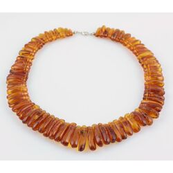Vintage pieces Baltic amber choker 20in