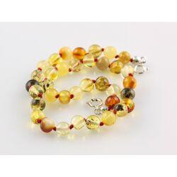 Adjustable Size Baltic amber Bracelet Anklet 30cm