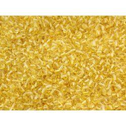 Natural Lemon BAROQUE Baltic amber holed loose beads