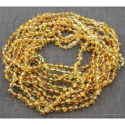 10 Honey BAROQUE Baltic amber adult necklaces