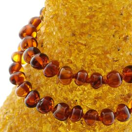 Set 2 Baltic Amber Teething Necklaces