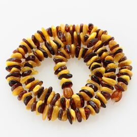 Multi CHIPS Baltic amber necklace 47cm