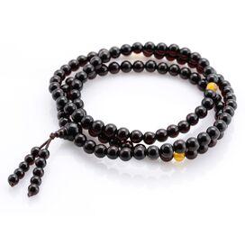 Tibetan Buddhist Mala Prayer 108 Baltic amber beads