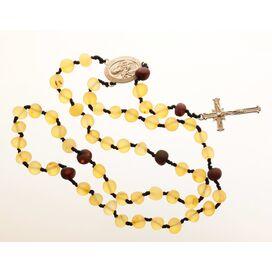 Lemon Baltic Amber CHRISTIAN CATHOLIC Rosary