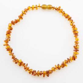 Honey Chips Teething Baltic Amber Necklace