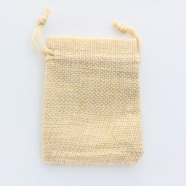 Small Linen Gift Pouch