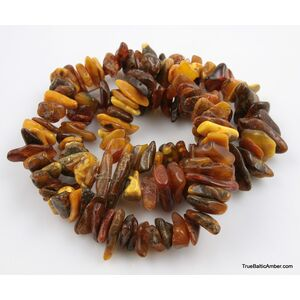 Large Vintage Baltic amber necklace 190g 32in