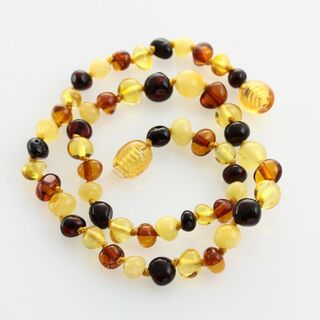 Multi4 Baltic Amber Teething Necklace For Babies