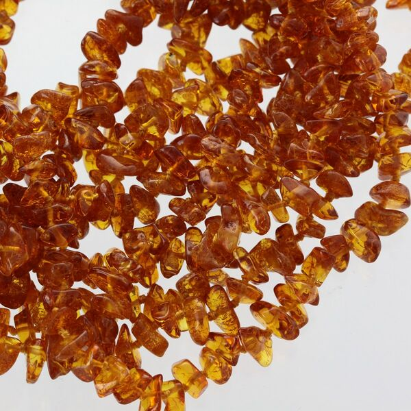 100 NUGGETS Baltic amber teething Baby necklaces