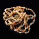 10 Raw Mix BEANS Baltic amber teething bracelets 15cm
