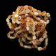 10 Raw Mix BEANS Baltic amber adult bracelets 19cm